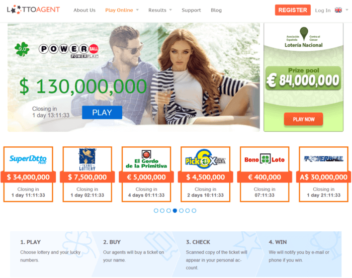 Play the famous italian lottery online - lotto agent