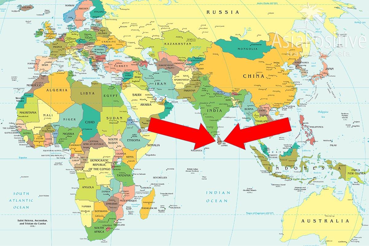 Шри-ланка потребует 100 долларов за визу и регулярные тесты на «ковид»