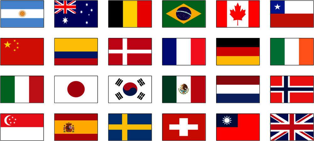 Флаги стран мира ⋆ по планете шаг за шагом