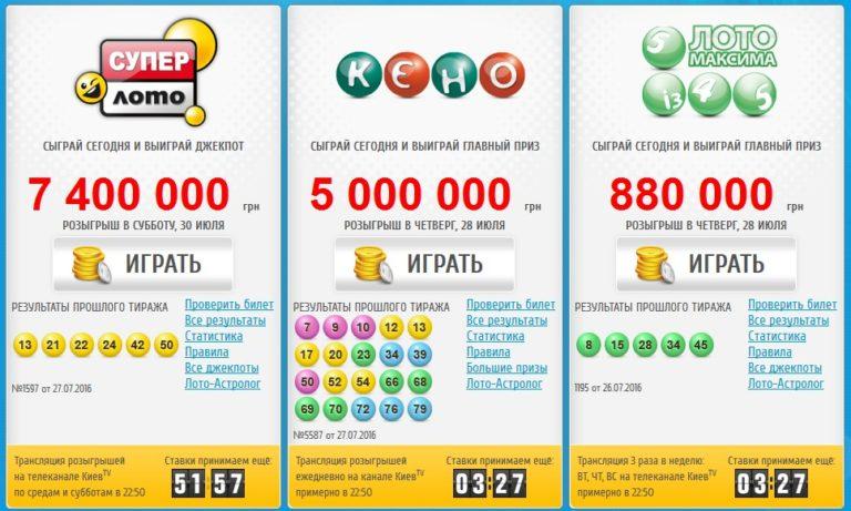 Национальная лотерея украины: супер лото и супер выигрыши   seiv.io