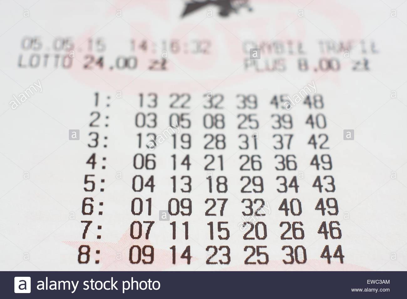 Polsk lotto lotto (6 af 49)