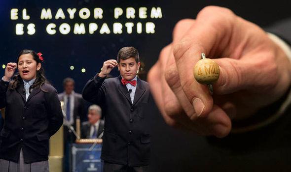 Spain el gordo latest results