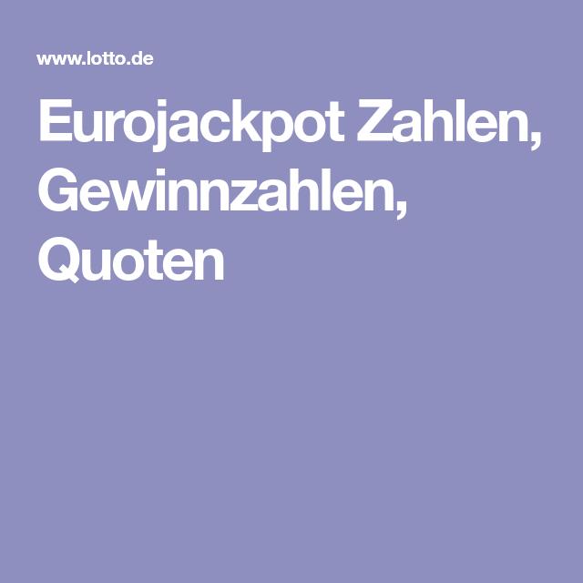 Eurojackpot: gewinnzahlen vom 31. august