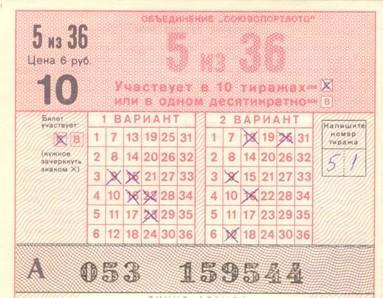 Любопытные факты из истории лотерей
