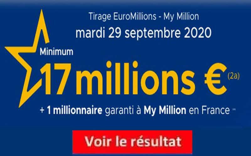 Résultat euromillions : tirage du mardi 30 mai 2017