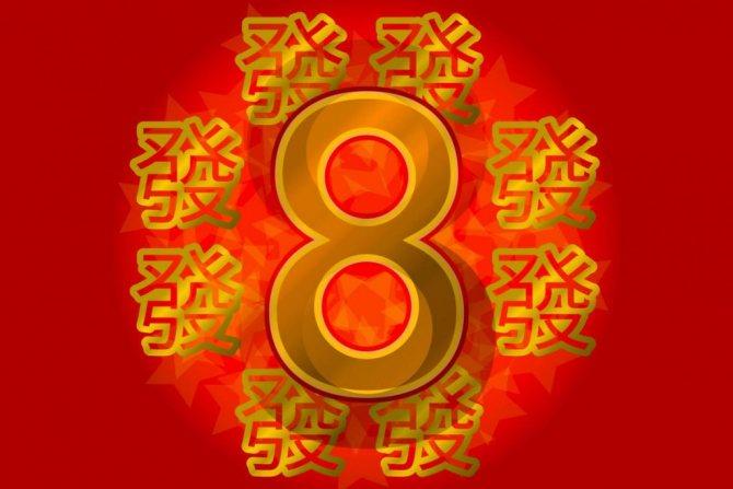 Китайские счастливые числа