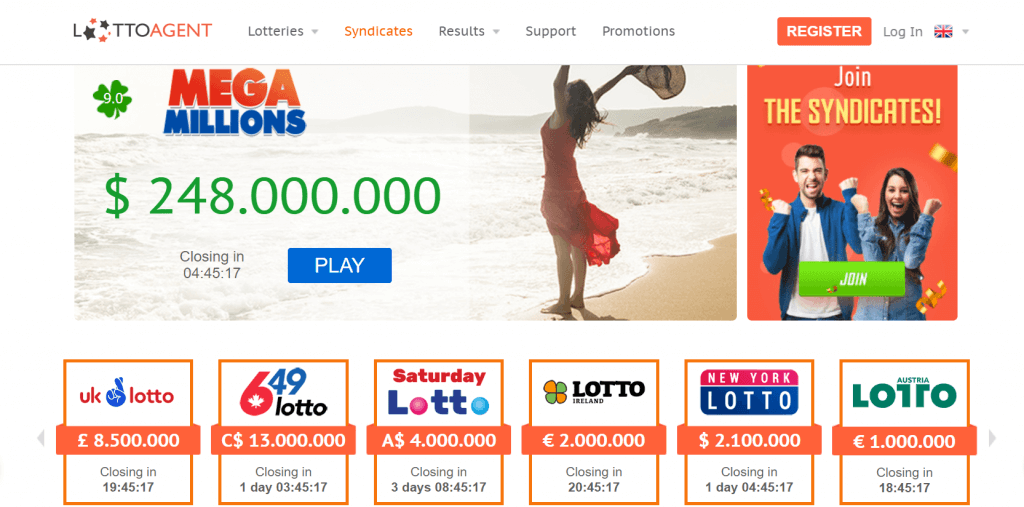 Play and win italian lottery superenalotto online - lotto agent