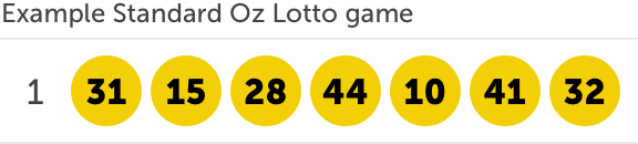 Australia saturday lotto results - oz lotto