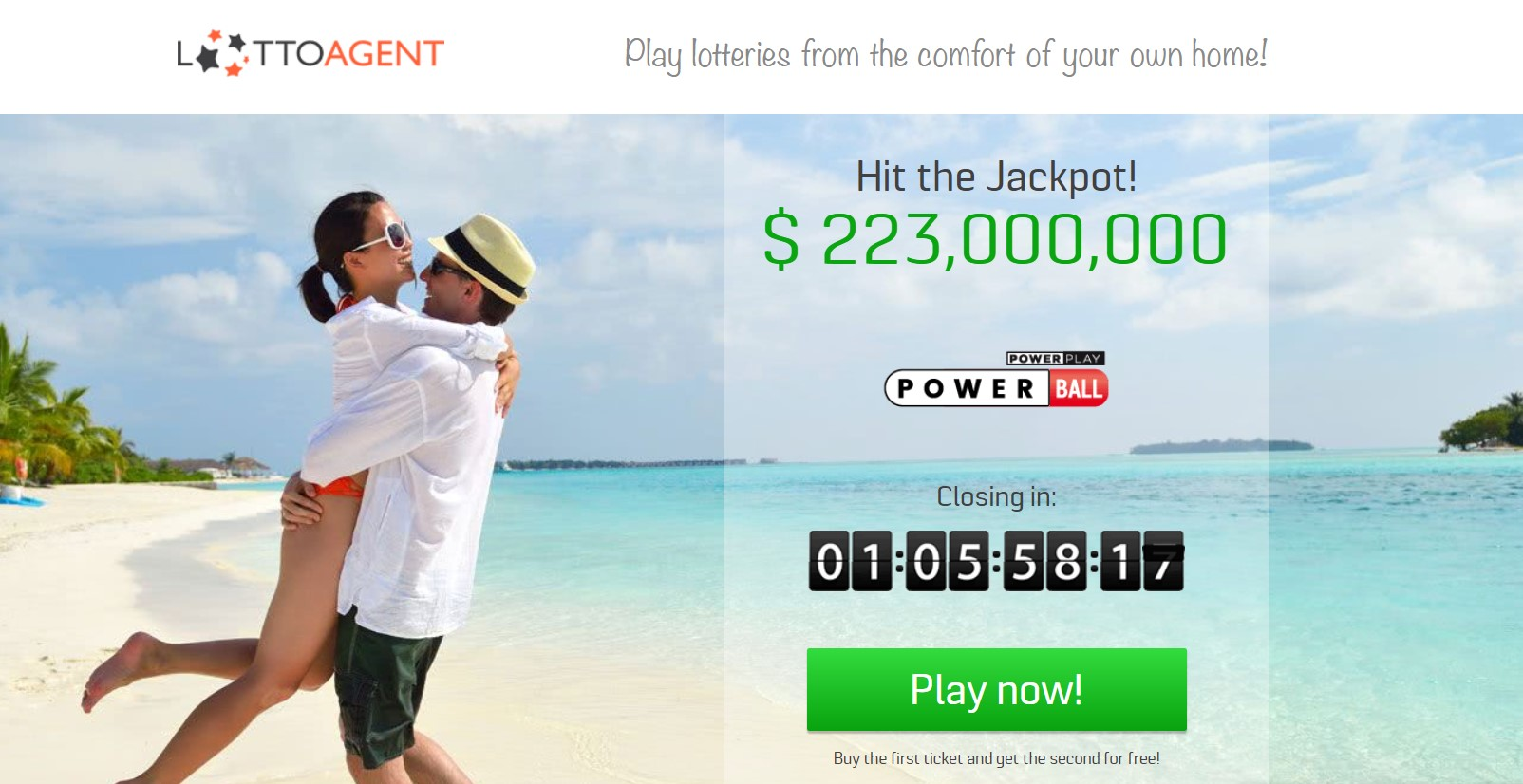 Lotto agent review | 24 lotteries and tons of discounts